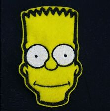 Bart Simpson Embroidered Patch, Badge Iron on or Sew