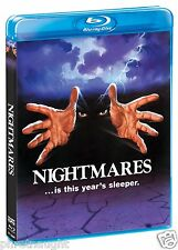 NIGHTMARES (1983) BLU-RAY - EMILIO ESTEVEZ - HORROR - SCREAM FACTORY