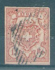 Briefmarken Schweiz 1852 15 Rp. Mi.Nr. 12 gepr.