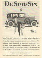 1929 DeSoto Six Ad - Must See !!
