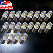 20X T11 BA9S T4W H6W 1985 363 White 5050 SMD 5LED Car Wedge Side Light Bulb Lamp