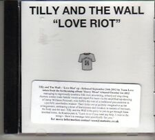 (DP13) Tilly And The Wall, Love Riot - 2012 DJ CD