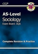 AS-Level Sociology AQA Complete Revision & Practice by CGP Books (Paperback, 20…