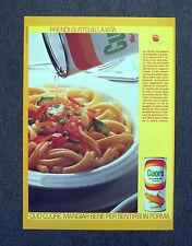 G488 - Advertising Pubblicità - 1989 - OLIO CUORE , PRENDI GUSTO ALLA VITA