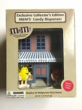 Exclusive Collectors Edition M&m's Candy Dispenser, Used , Open Box Unit