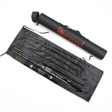 Fishing Carbon Rod With 2 Modes Spinning And Casting 8 Sec + Hard Case Tube