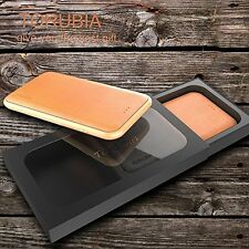 Opulent Apple iPhone 7 Exquisite Genuine Leather Case + Tempered Glass Protector