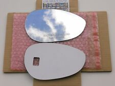 571RC - 2012-2013 FIAT 500 Mirror Glass Passenger Side Right RH NEW + Adhesive
