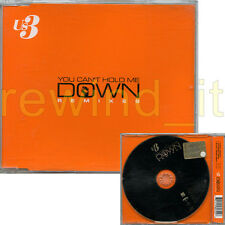 "US3 ""YOU CAN'T HOLD ME DOWN REMIXES"" RARE CDsingle 3 TRACKS"