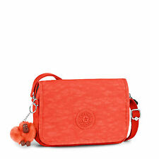 Kipling DELPHIN N Small Across Body/Shoulder Bag CORAL ROSE C SPF2016 RRP £55