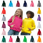 Kids Hooded Sweatshirt Childrens Plain Hoodie Blank Hoody Hoodie 27 Colours
