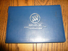 1995 Buick Regal Owner's Manual & Warranty Book - Glove Box w/ Factory Envelope