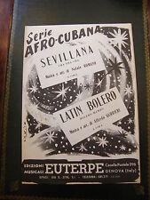 Partition série Afro Cubana Sevillana Romano Latin Bolreo Gurrieri