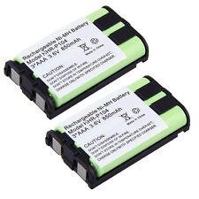 2x Phone Battery For Panasonic KX-TG5423 KX-TG5428 KX-TG5431 KX-TG5432 KX-TG5433