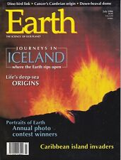 Earth Magazine - July 1994, Journeys in Iceland, Life's Origins, Vol 3 No 4