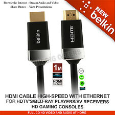 Belkin HDTV High-Speed HDMI® Cable with Ethernet 4K/Ultra HD AV10050-1M