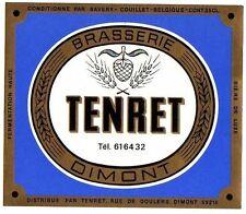 Belgian Beer Label - Tenret Brewery - Belgium - Tenret