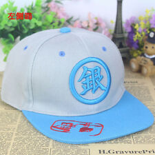 Anime Gintama Silver Soul cotton baseball cap cosplay Sun hat 3D embroidery PUNK