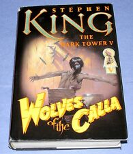 WOLVES OF THE CALLA Stephen King: Dark Tower V Hardcover w/DJ 1st Trade Edition