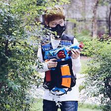 Weste Kinder Spielzeug Gun Clip Jacke Foam Kugel Munition Halter Für Nerf Neu