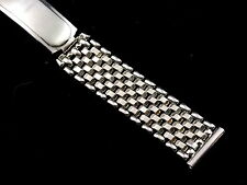 Vintage NOS unused Kestenmade White gold filled Permawear watch band 16mm 5/8 in