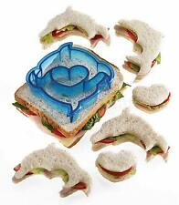 Kitchencraft Dolphin Shape Kids Lunch Sandwich Cutter. Great fun for Parties.