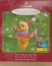 2000 Hallmark Keepsake Ornament-Winnie-the-Pooh Collection-Pooh Chooses the Tree