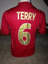 England Terry #6 2006 / 2008 Away Football Shirt Size XLB Boys 06 08