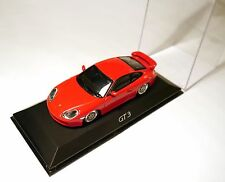 Porsche 911 (996 A) Coupe GT3 gt 3 in rot rouge rosso roja red, Minichamps 1:43!