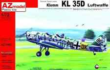 """AZ Models 1/72 Klemm KL 35D """"LUFTWAFFE"""" # 7505"""