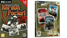 korsun pocket & war games trilogy (D-DAY- MOCKBA TO BERLIN-DESERT RATS VS AFRIKA