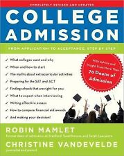 College Admission: From Application to Acceptance, Step by Step, VanDeVelde, Chr