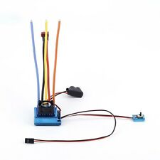 120A ESC Sensored Brushless Speed Controller For 1/8 1/10 Car/Truck Crawler CF