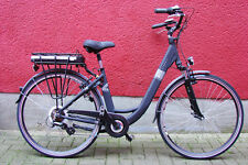 """28"""" Alu Elektro Fahrrad E Bike Pedelec Damen Shimano 7 Gang Elektrofahrrad Schwa"""