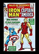Iron Man & Capt. America fridge magnet (sd)