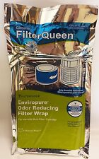 Genuine Filter Queen Defender Enviropure Activated Charcoal Pre-Filter Wrap 7""