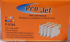 Any 24 Non OEM Compatible Projet Inkjet Cartridges T441 T442 T443 T444