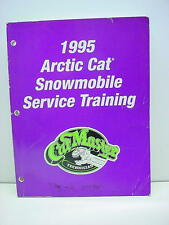 Arctic Cat 1995 Snowmobile Service Training Manual Slightly Used #43