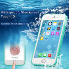 Waterproof Shockproof Hybrid Rubber TPU Phone Case Cover For iPhone 5 6 6S Plus