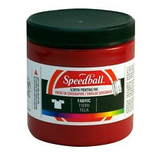 Speedball Fabric Textile Screen Printing Ink 236ml - Choose Colour