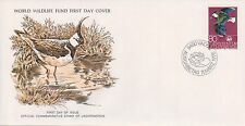(WWF-4) 1976 Liechtenstein no.4 European Lapwing cover