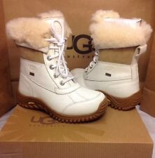 Ugg Australia Womens Adirondack II White Color Boot Size 8 US