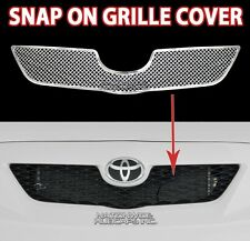 2008 09 10 Toyota Corolla CHROME Snap On Grille Overlay Front Grill Insert Trim