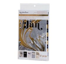 NEW Recollections Planner A6 Ring Binder 12 Month Calendar Pack - Black & Gold