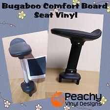 Bugaboo COMFORT CON RUOTE BOARD Sedile Pole Pre-Cut Vinyl-Nero
