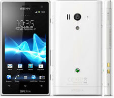 New Unlocked Sony Xperia acro S LT26W 16GB White Smartphone GPS 4.3'' 12MP
