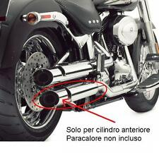 80529-07 terminali scarico ant. kit 80500-07 Screamin Eagle Softail e crossbones