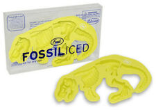Fred & Friends FOSSILICED T-Rex Ice Tray, YELLOW, Party Accessory Dinosaur Mold