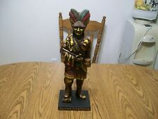 Dutch Masters Cigar Indian Statue Store Display salesman sample native american
