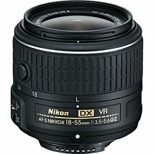 Nikon AF-S DX NIKKOR 18-55 mm f/3.5-5.6G VR II Lens f/D5500 D3300 D5200 WhiteBox